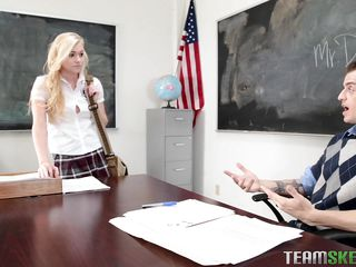 Порно соблазнила учителя